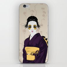 Geisha B iPhone & iPod Skin