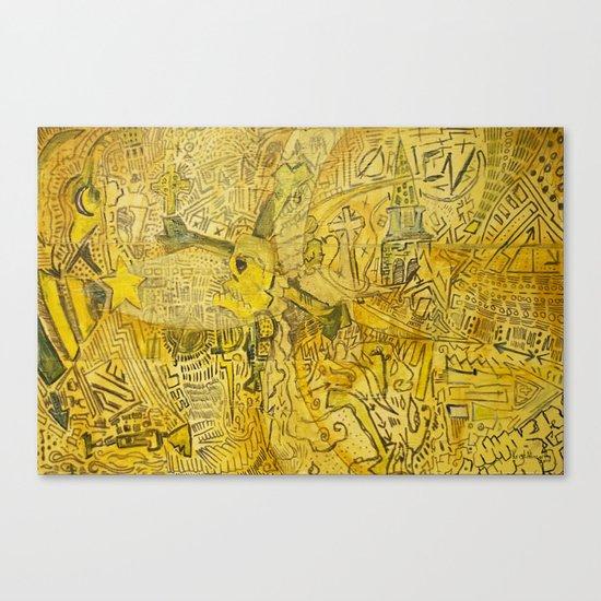 Serpent City Canvas Print
