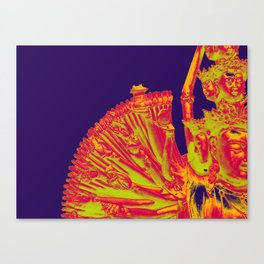 Quan Yin-Purple Canvas Print