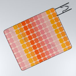 Strawberry Dots Picnic Blanket