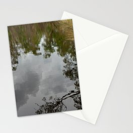 River reflections, Noosa everglades, Australia Stationery Cards