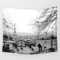paris Wall Tapestries featuring Paris by Studio Laura Campanella