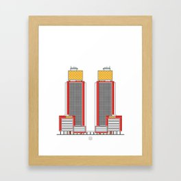 Torres del Centro Simón Bolívar Framed Art Print