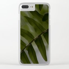 Upside down leaves Clear iPhone Case