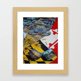 Maryland Framed Art Print