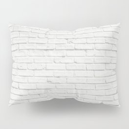 Brick Wall Pillow Sham