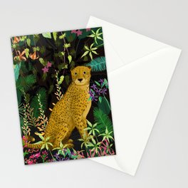 Jungle Leopard Stationery Cards
