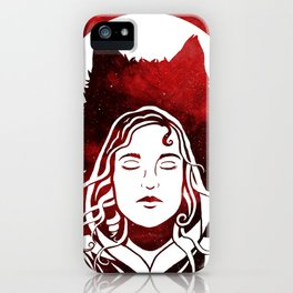 Scarlet and the Wolf iPhone Case