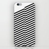 bands iPhone & iPod Skins featuring Blacknote Bands by blacknote