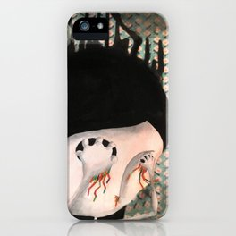 take your eyes out so you can see better iPhone Case