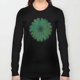 """Porstroke, Teal Shade Pattern"" Long Sleeve T-shirt"