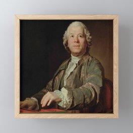 Joseph Siffrein Duplessis- Portrait of Gluck Framed Mini Art Print