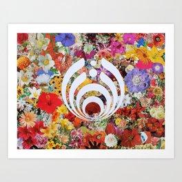 Innerbloom Bass Drop Art Print