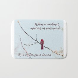 Visitor from Heaven Bath Mat