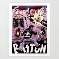 Baston Art Print
