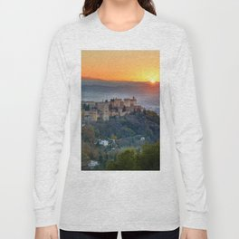 Red sunset at The Alhambra Palace Long Sleeve T-shirt
