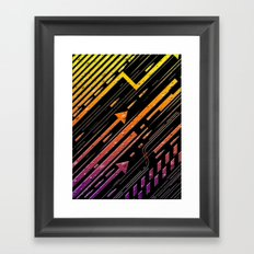 No Direction Pt. Two Framed Art Print