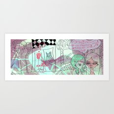Oh, not anymore Art Print