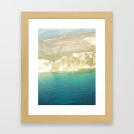 view from air Framed Art Print