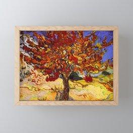 Vincent Van Gogh Mulberry Tree Framed Mini Art Print