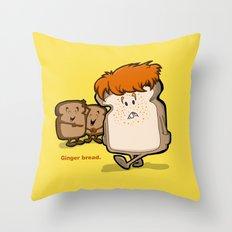 Ginger Bread Throw Pillow