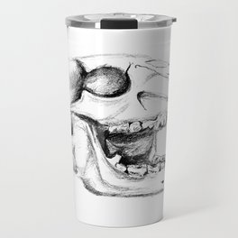 Bear Skull Travel Mug