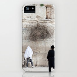 Wailing Wall in Israel iPhone Case