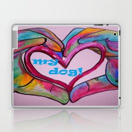I Heart my Dog Laptop & iPad Skin