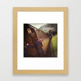 Abfahrt Framed Art Print