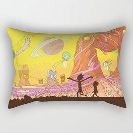 Ricks Multiverse Rectangular Pillow