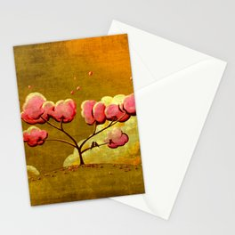 Morning Glory Tree Stationery Cards