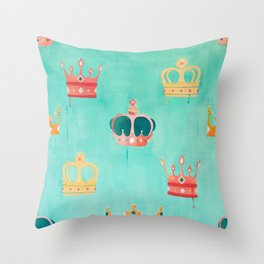 Royal Riot Throw Pillow
