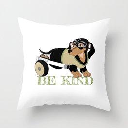 Ricky Bobby #3: Be Kind Throw Pillow