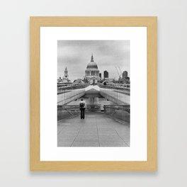 St Pauls Vista Framed Art Print