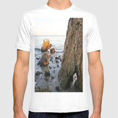 Low Tide Mens Fitted Tee White MEDIUM