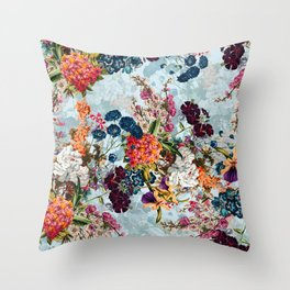 Summer Botanical Garden VIII Throw Pillow