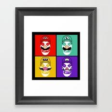 N. Misfit 4 (b) Framed Art Print
