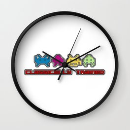 Classically Trained - 80s Video Games Wall Clock