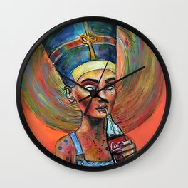 Ordinary Nefertiti Wall Clock