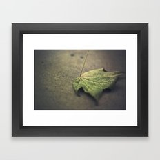 I'm going through changes Framed Art Print