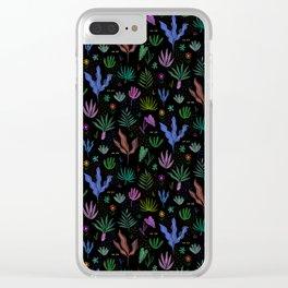 Night Jungle Clear iPhone Case