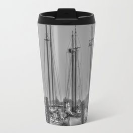 Schooners in the Cove Travel Mug