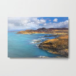 View from Ardnamurchan Metal Print