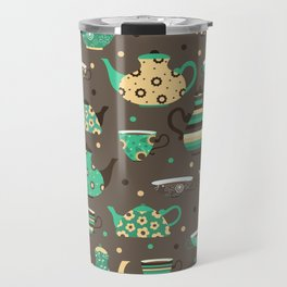 Tea pattern. Travel Mug