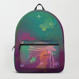 Mermaid II - Bohemian Starfish Headpiece Backpack