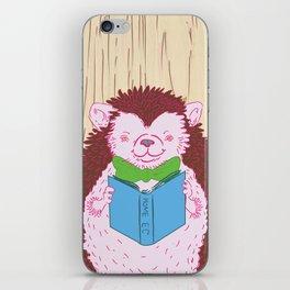 Grab a Book - Home Economics - Hedgehog Love iPhone Skin