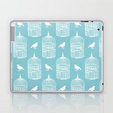 Bird Cage Pattern. Laptop & iPad Skin