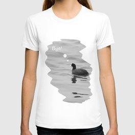 lonely bird T-shirt