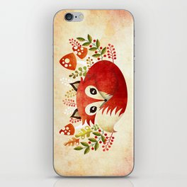 Lazy Foxy iPhone Skin