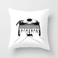Good Morning, Dear Throw Pillow